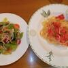 旅人木 - 料理写真:明太子の冷たいスパゲッティセット