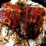 157374393 - ランチの鰻丼