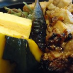 よこかわ - 【2012年10月】焼鳥丼接写。