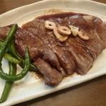 肉のキング - 2012.11 和風ベースのステーキになりました♪