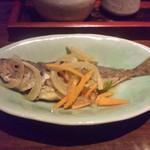 おでんと旬菜魚 中々 - 鯵の南蛮漬け.JPG