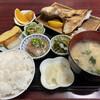 いとより亭 - 料理写真:カンパチのカマの塩焼き定食