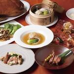 中国料理 皇家龍鳳 - 料理写真:花宴~車海老と松茸のコース~