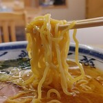 喜楽食堂 - 料理写真:麺は