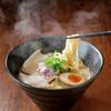 くろす - 料理写真:当店人気No1  鶏煮込み塩/醤油らーめん(^_-)-☆