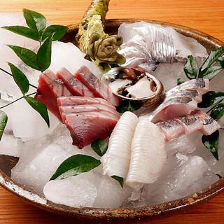 鮮度抜群の朝獲れ海鮮を、美味しい日本酒とともに堪能