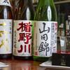 ダイニングステージ 佐海屋 - ドリンク写真:日本酒集合_楯野川、十四代、龍力