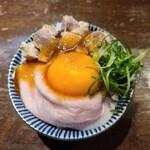 麺道 麒麟児 - チャーシューごはん
