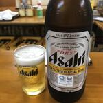 天国 - アサヒスーパードライ大瓶633