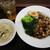 中華101 - 料理写真:台湾ルーロー飯(スープ付き)