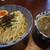 黄昏タンデム - 料理写真:つけ麺カレー味です☆ 2021-0829訪問