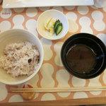 15741427 - 特別ランチ(五穀米と赤だし)