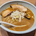 157413082 - 味がすごくいい魚介豚骨スープでした