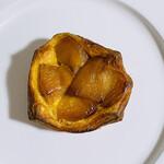 クーネルベーカリー - リンゴデニッシュ250円