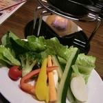 15742182 - 新鮮野菜のバーニャカウダ―