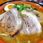 麺屋 一本気 - みそらー麺・ちゃーしゅう(2012年11月)