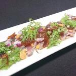 イタリア料理 モナリザン - 鰹のカルパッチョ