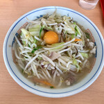 長崎亭 - 料理写真:『長崎ちゃんぽん+生卵』様(770円+50円)