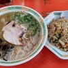 長崎うまか亭 - 料理写真:豚骨ラーメン+チャーハンセット