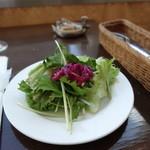 千疋屋レストラン BIWAWA - サラダ