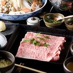 西新初喜 - 料理写真:創業昭和九年の和牛専門店がご提供する『しゃぶしゃぶ・牛すき鍋の専門店』