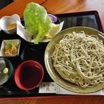 北澤 - 料理写真:天ざる蕎麦
