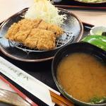 長八 長者町店 - 八の日サービスデーのヒレかつ定食¥880