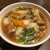 直家   - 料理写真:竜昇麺 900円                 オリジナルの野菜あんかけ醤油ラーメンとのこと。