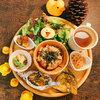 カフェ パンプルムゥス - 料理写真:畑の見えるAランチ