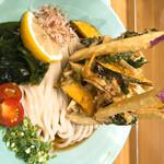 157439965 - 7種の野菜かきあげぶっかけうどん(1100円)