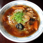 中国家常菜 しんた - 五目あんかけラーメン_760円