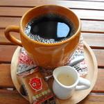 よんふくcafe - 食後は紅茶・コーヒ・三年番茶の中から選べます