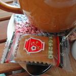 よんふくcafe - 珈琲には「シルコサンド」がついてきた@@