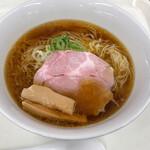 らーめん竹馬 - 鶏と煮干しの中華そば880円
