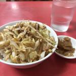 玉泉亭 - ミニネギチャーシュー丼