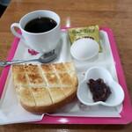 ジャスミン - 料理写真:モーニング 350円