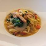 パタジェ - 【初回訪問時】季節野菜のおまかせパスタをチョイス♪