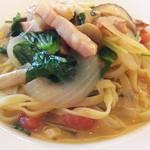 パタジェ - お野菜の甘味が引き立つスープパスタ風です。