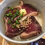 恵比寿初代 - 料理写真:鰹たたきの薬味御飯