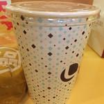 ロッテリア - 絶品チーズバーガーセット 690円 ジンジャーエール 【 2012年11月 】