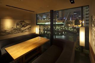 個室 和食 堀江燈花 なんば店 -  googleお店フォト【 http://goo.gl/maps/Aau4A 】このURLより、この個室の360度写真をご覧いただけます。