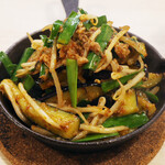 トンテキ食堂8 - 茄子のピリ辛味噌炒め(700円)