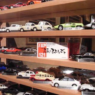 店内には、ミニカーがいっぱい!!