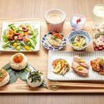 京のSAKESORA - 9/3より三味彩々ランチが秋Ver.1となりました!