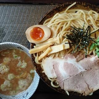 荒川らーめん魂 あしら - 料理写真:全粒粉つけ麺魚介醤油(特盛)