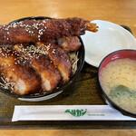 ペリカンレスト - ミックスソースカツ丼
