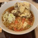 田そば - しいたけ天ぷら美味しい
