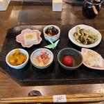 玄米庵 - 料理写真:小鉢セット