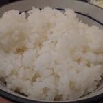 三九三 - ササミカツ定食820円税込のご飯おかわり♪