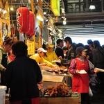 唐戸市場 活きいき馬関街 - 祭日 昼前!!賑わってる